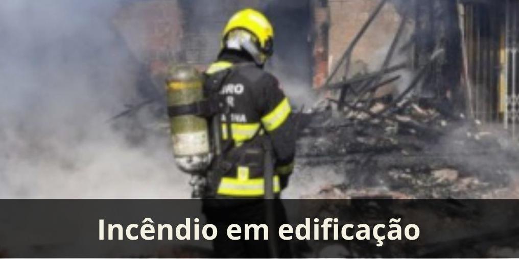 Incêndio em edificação
